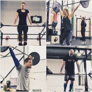 Crossfit Games 2016 Open @ CrossFit Magdeburg, Muscle Ups & Snatches