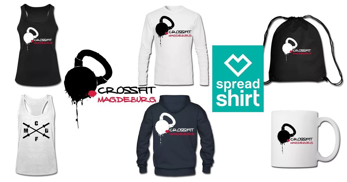 CrossFit Magdeburg Boxshop bei Spreadshirt